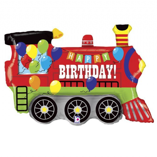 "37"" Birthday-Party-Train"